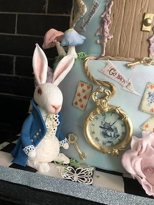 Mad hatters tea party  - Cake by Andrias cakes scarborough