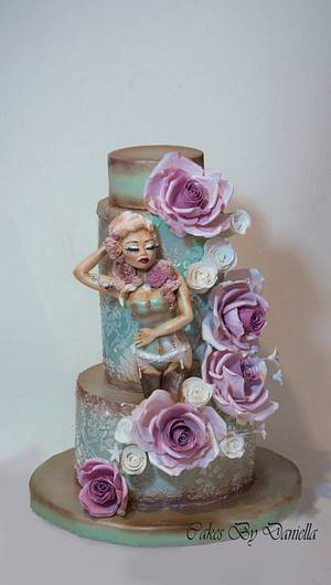 ...Inspired by Marie Antoinette style.... - Cake by daroof