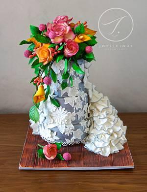 Tin Anniversary - Cake by Joyliciouscakes