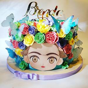 Frida  cakes - Cake by Dolcetto Cakes
