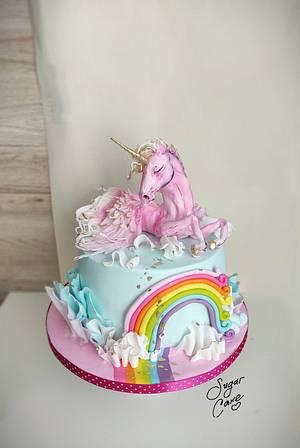 Unicorn  - Cake by Tanya Shengarova