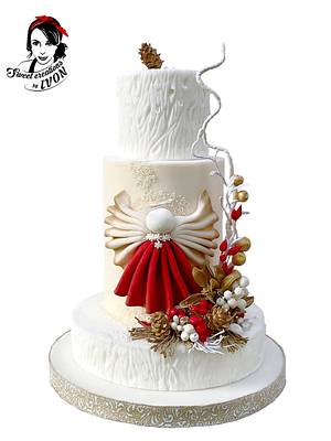 Christmas Angel  - Cake by Ivon