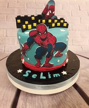 Spider Man cake - Cake by Noha Sami