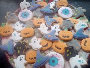 Halloween cookies - Cake by Gery