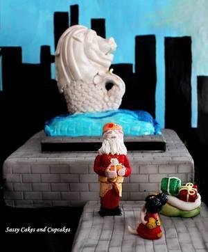 Santa's Passport Collaboration - Singapore - Cake by Sassy Cakes and Cupcakes (Anna)