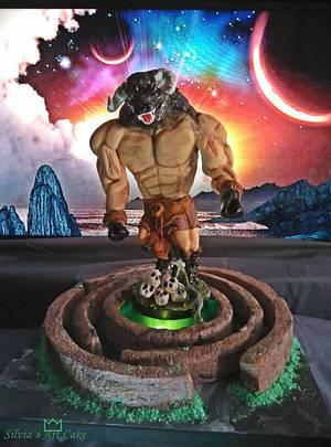 Sugar Myths and Fantasies Laberinto del Minotauro - Cake by SilviaGarciaGil