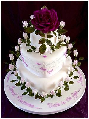 'Love you Di' - Cake by Margaret Ellis - Art of Sugar