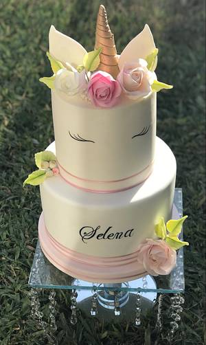 Unicornio 💕 - Cake by Griselda de Pedro