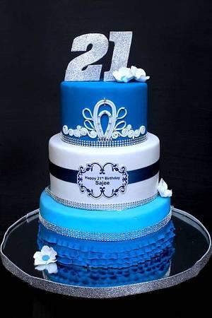 21st  birthday - Cake by fusion cakes srilanka