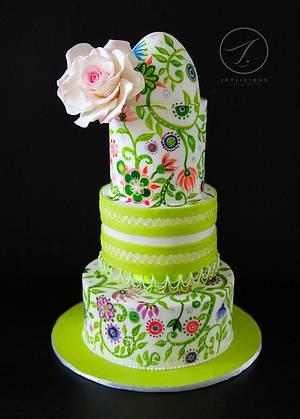 Spring - Cake by Joyliciouscakes