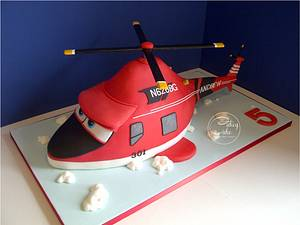 Helicopter Cake - Cake by CakeyCake