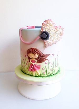 For a pediatrician - Cake by Mnhammy by Sofia Salvador
