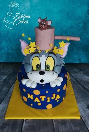 Tom and Jerry cake - Cake by Zaklina
