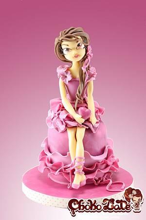 Lady Valentine - Cake by ChokoLate
