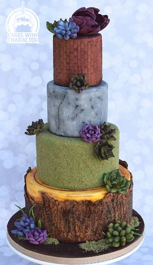 Everyday textures - Cake by Jean A. Schapowal