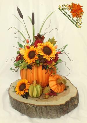 Sweet Autumn Collaboration - Cake by Karen Dodenbier