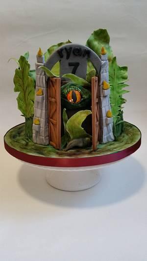 Jurassic eye - Cake by Love it cakes