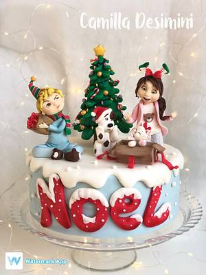 La magia del Natale  - Cake by  La Camilla