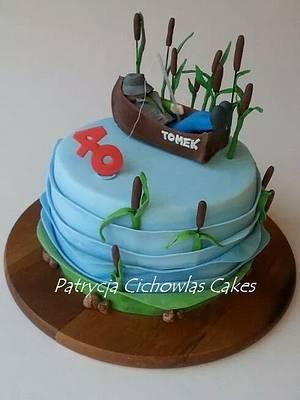 fisherman - Cake by Hokus Pokus Cakes- Patrycja Cichowlas