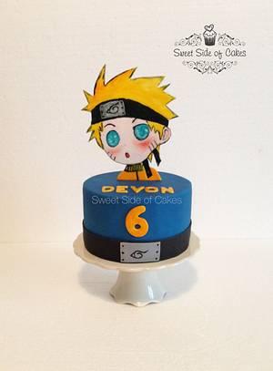 Naruto Anime Cake - Cake by Sweet Side of Cakes by Khamphet