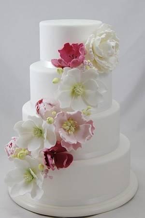 Springtime Wedding - Cake by Jo Kavanagh