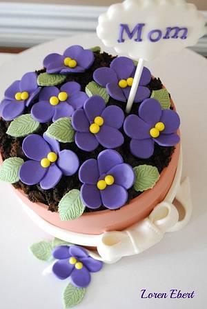Happy Mother's Day!! - Cake by Loren Ebert