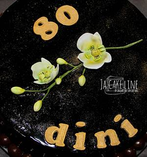 Grandma 80 years - Cake by Jacqueline