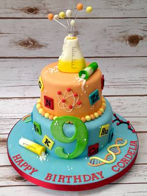 Science Cake  - Cake by The Cake Bank