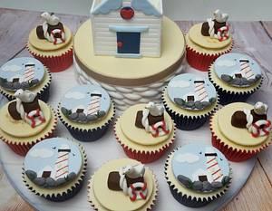 NAUTICAL AWARD WINNING CUPCAKES  - Cake by JojosCupcakeMadness