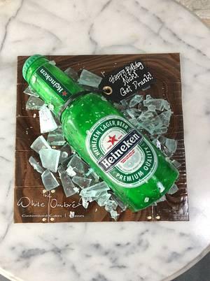 Heineken Beer Cake - Cake by Nicholas Ang