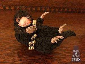 Niffler tree topper  - Cake by Dragons and Daffodils Cakes
