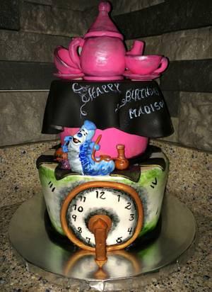 Alice in Wonderland   - Cake by Kim