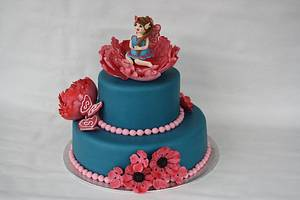 A lot of firsts Fairy cake - Cake by Roos Simbula