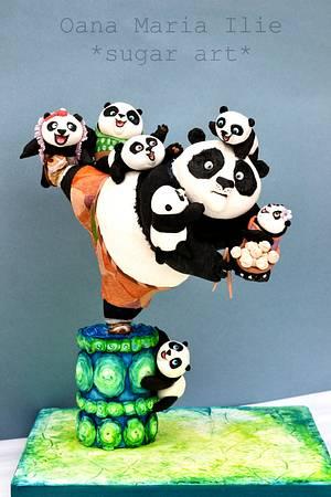 Kung Fu Panda 3 - Cake by Oana Ilie