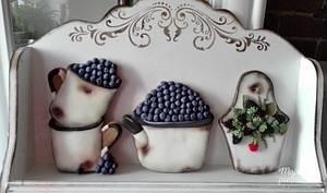 Old rusty enamel dishes - Cake by Ewa Kiszowara