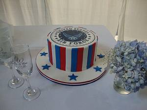 Air Force Grooms' Cake - Cake by Cakes ROCK!!!