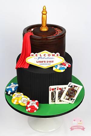Casino Royale Cake - Cake by Cuppy & Cake