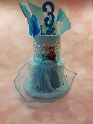 Ice queen cake nr. 3 - Cake by Rina Kazimierczak