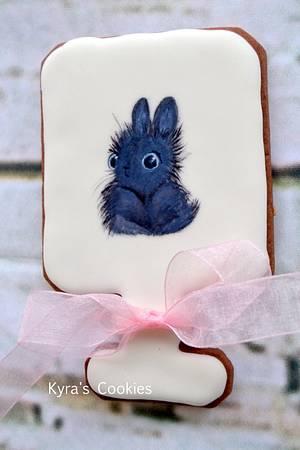 Bunny - Cake by Anna Bonilla