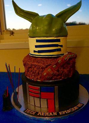 Star Wars - Cake by supersky