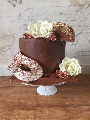 Masquerade Cake - Cake by Charlotte