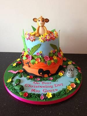 lion king - Cake by Donnajanecakes