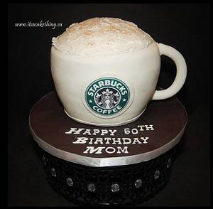 Coffee Anyone?  - Cake by It's a Cake Thing