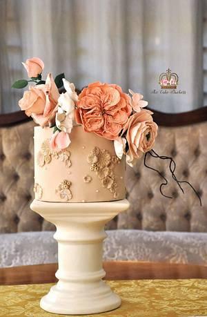 Florasion  - Cake by Sumaiya Omar - The Cake Duchess
