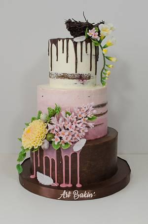 Easter Bday Cake - Cake by Art Bakin'