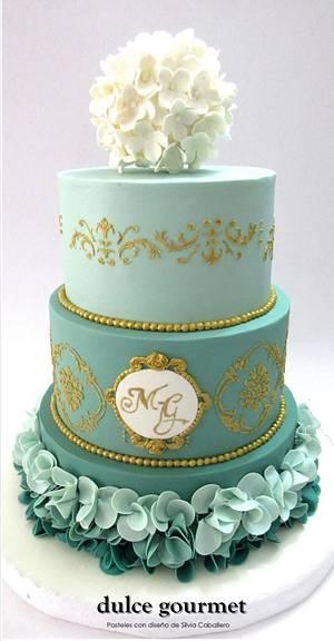 Wedding cake - Cake by Silvia Caballero