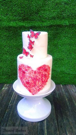 My Valentine  - Cake by Daniel Guiriba