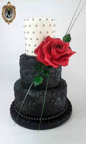 Couture Cakers Collaboration - Cake by ARISTOCRATICAKES - cake design by Dora Luca