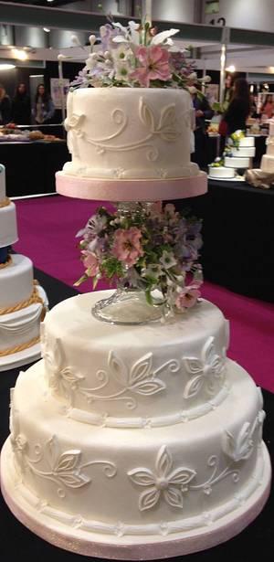 Wedding Cake.. - Cake by CakesbyAnusha