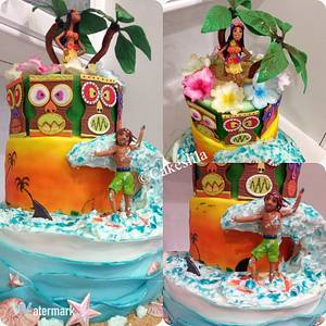Sweet Summer Collaboration - Cake by Cakeslila
